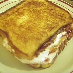gooey toasted pb and js recipe