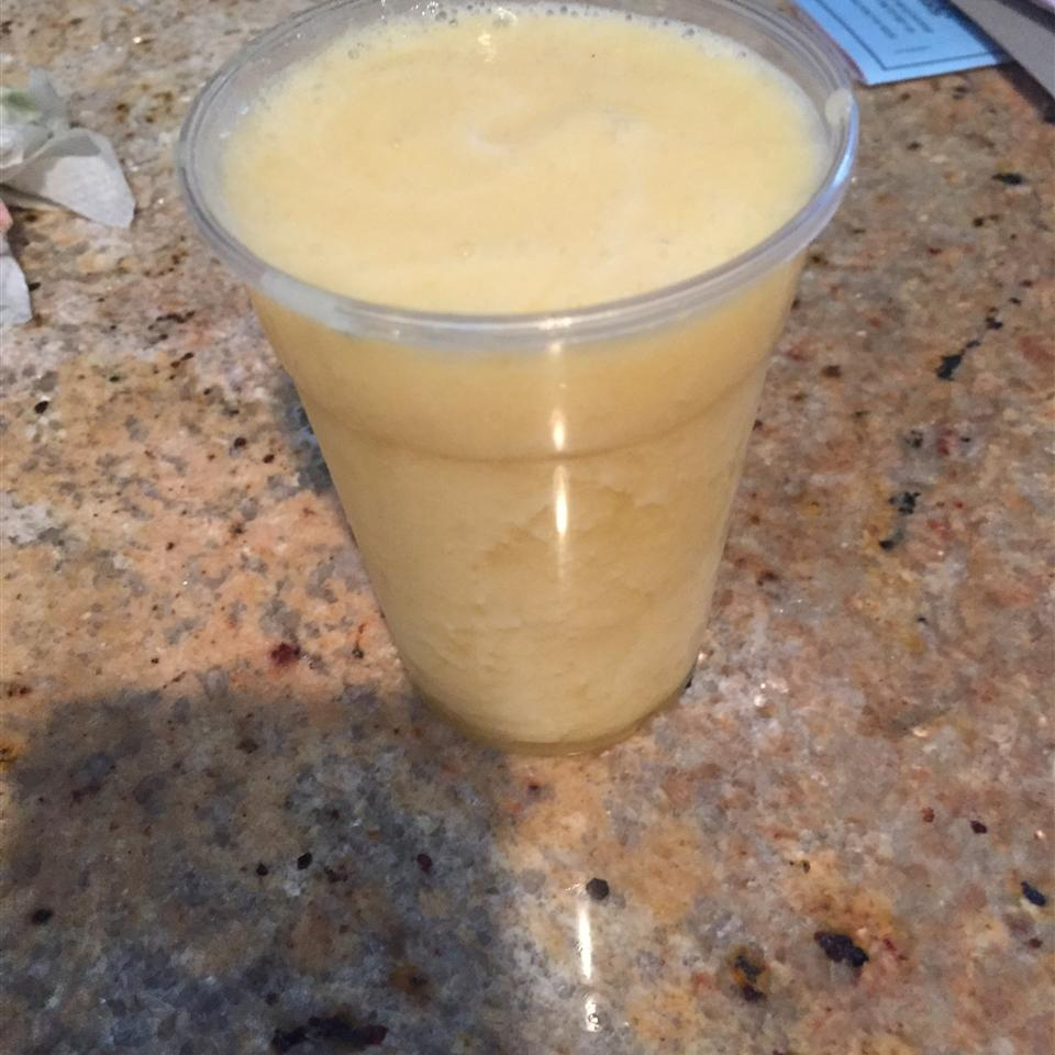 Pineapple and Banana Smoothie Courtney Evans