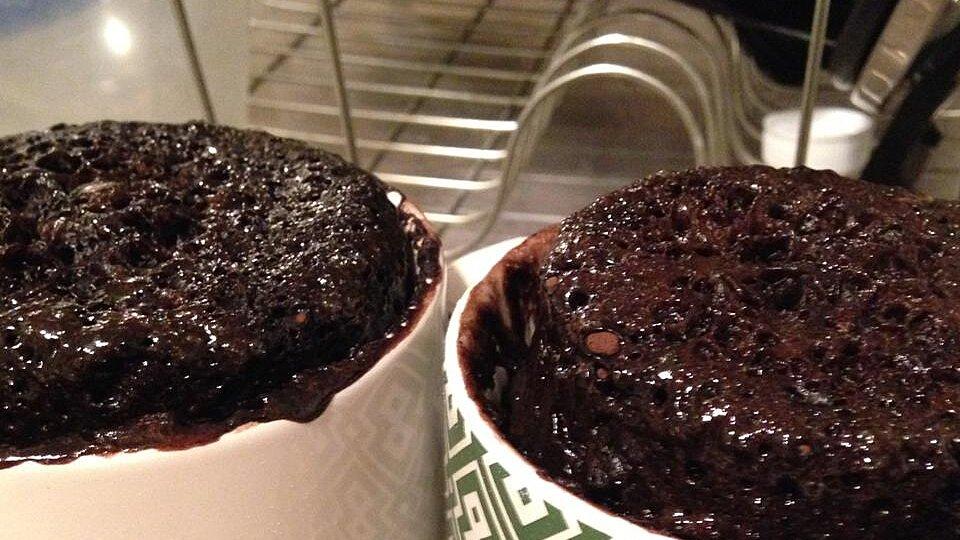 Microwave Nutella® Mug Cake