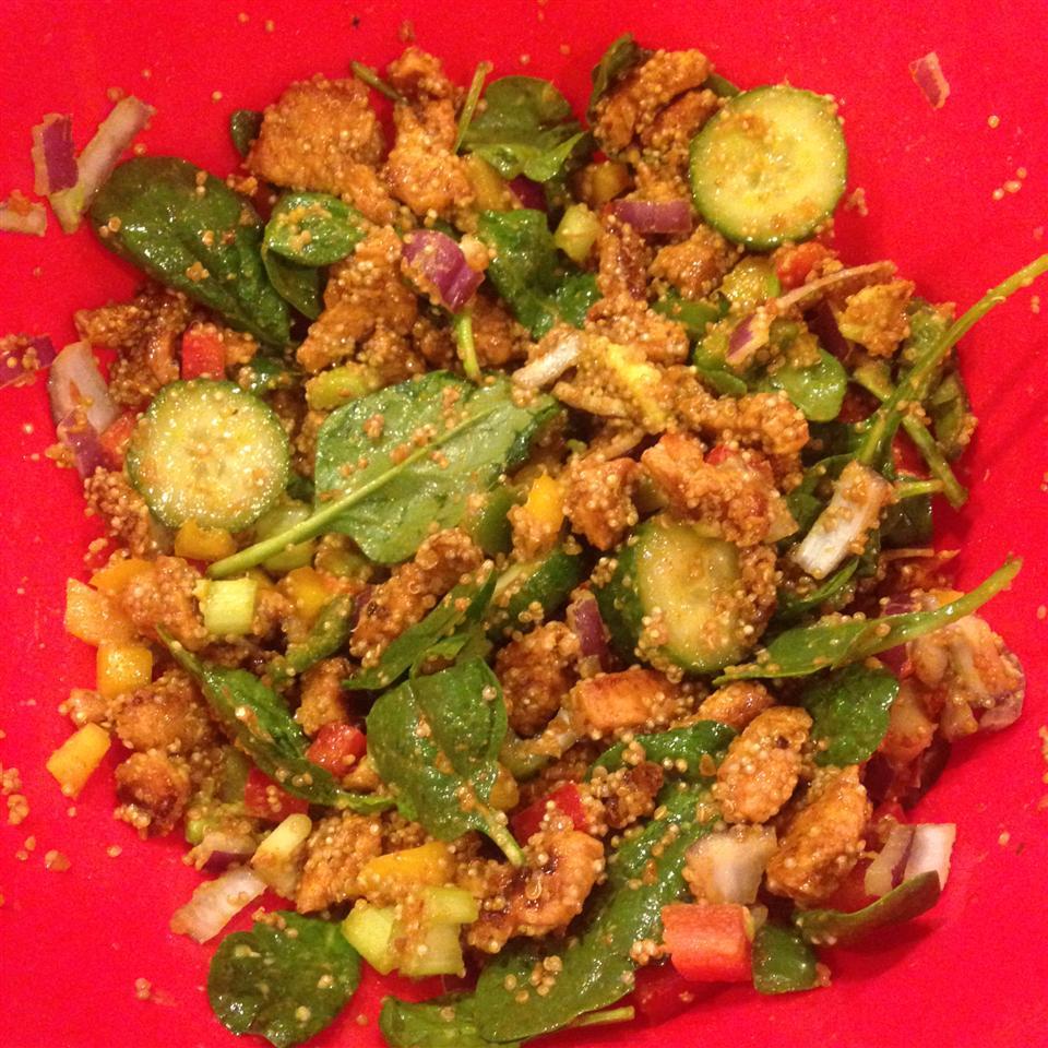 Mexican Chicken Quinoa Salad JPF