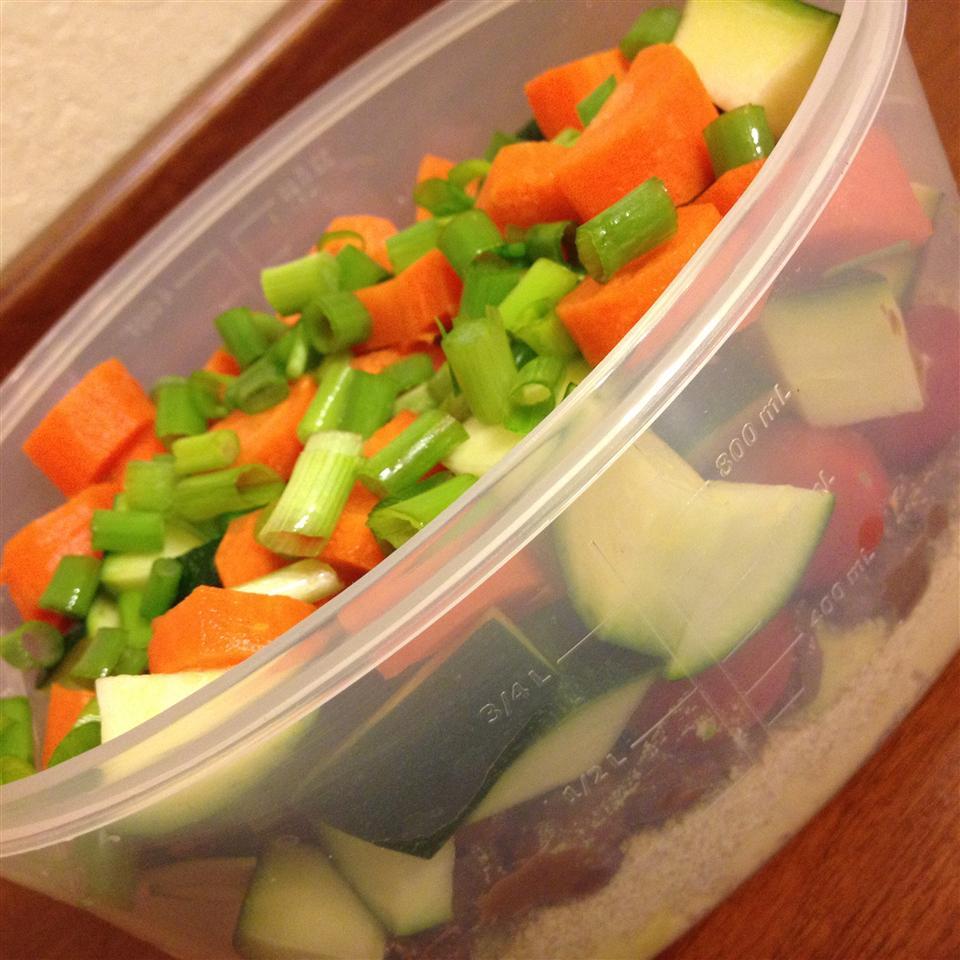 Healthy Stuffed Salad