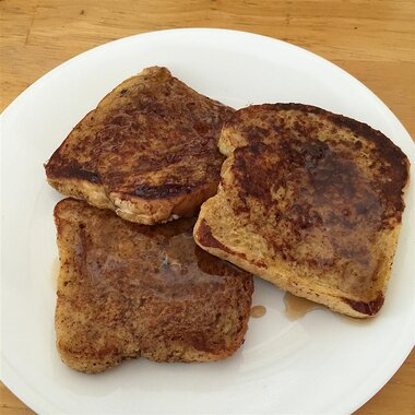 cinnamon accented french toast recipe
