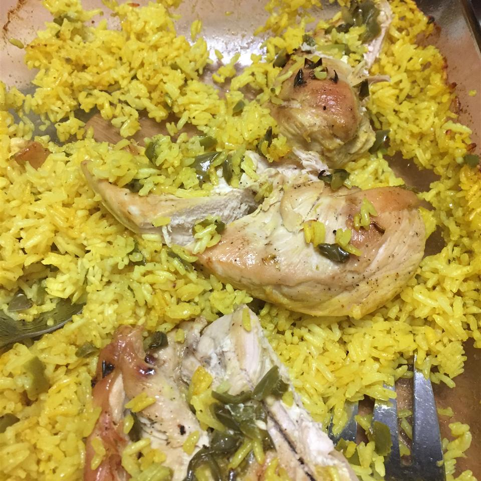 Easy Chicken and Yellow Rice Noty661