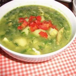 Jamaican Spinach Soup moka
