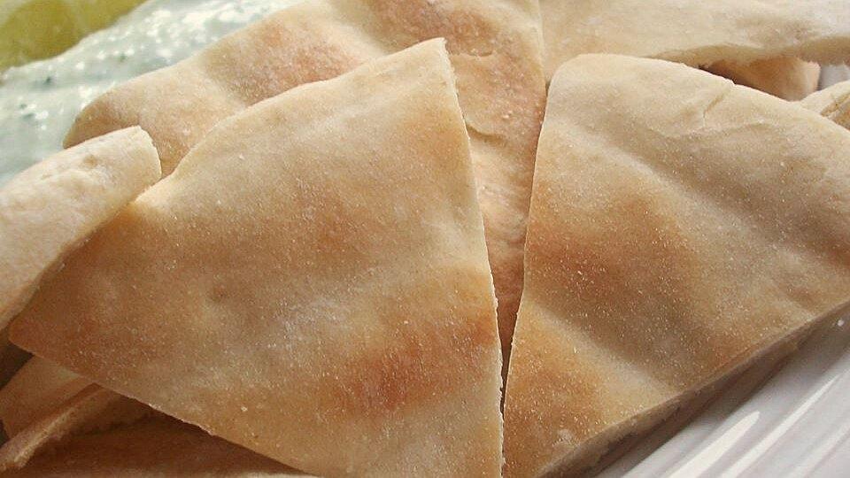 Baked Pita Triangles