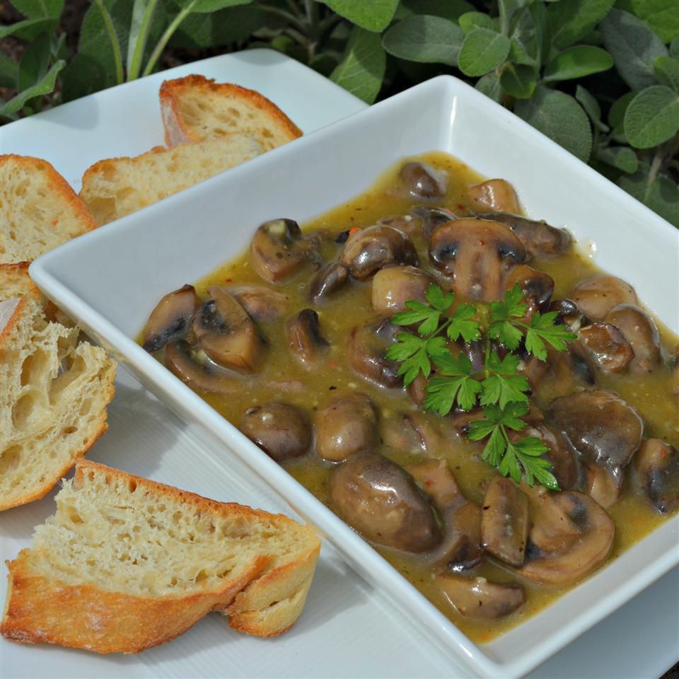 Jean's Marinated Mushrooms