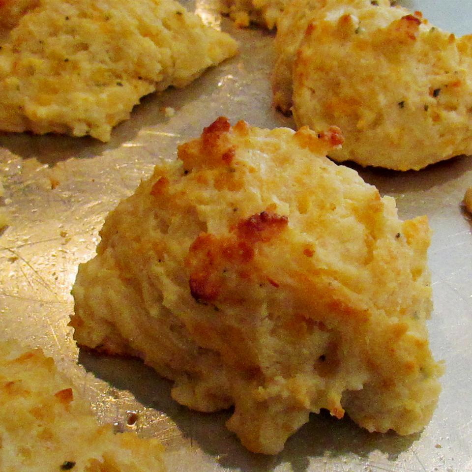 Garlic-Herb Butter Drop Biscuits Rosesong