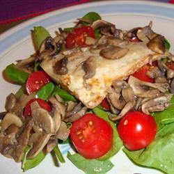 Zesty Tilapia with Mushrooms Gitano