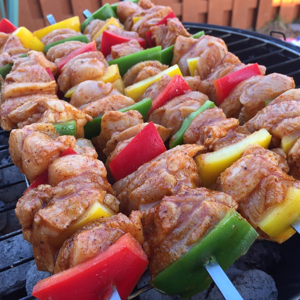 Chili-Lime Chicken Kabobs Mary