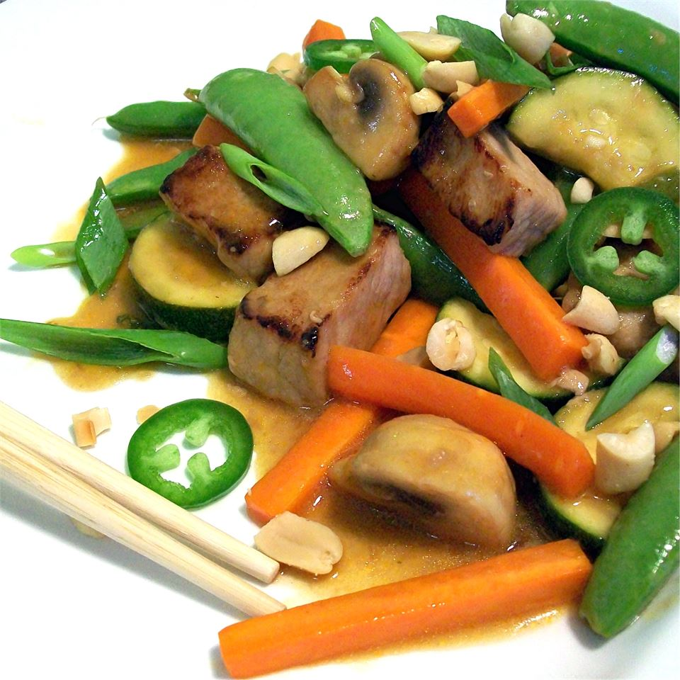 Spicy Pork Stir-Fry