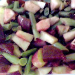 Beet, Bean and Apple Salad Chrystal