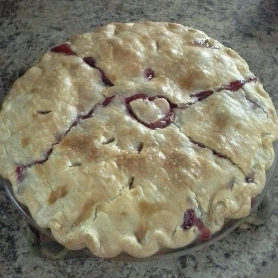 My Own Strawberry Rhubarb Pie