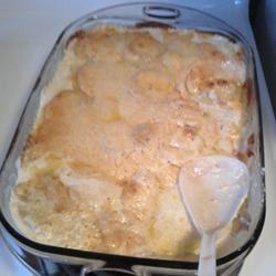 Three Cheese Garlic Scalloped Potatoes