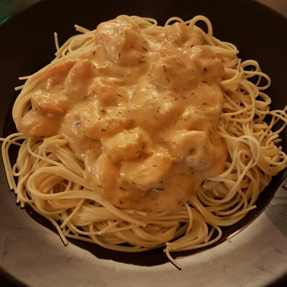 Creamy Cajun Shrimp Pasta Avery Pegues