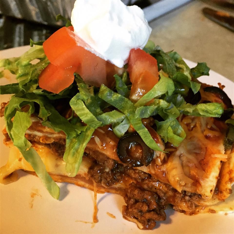Mexican Lasagna with Cactus brieghancooks