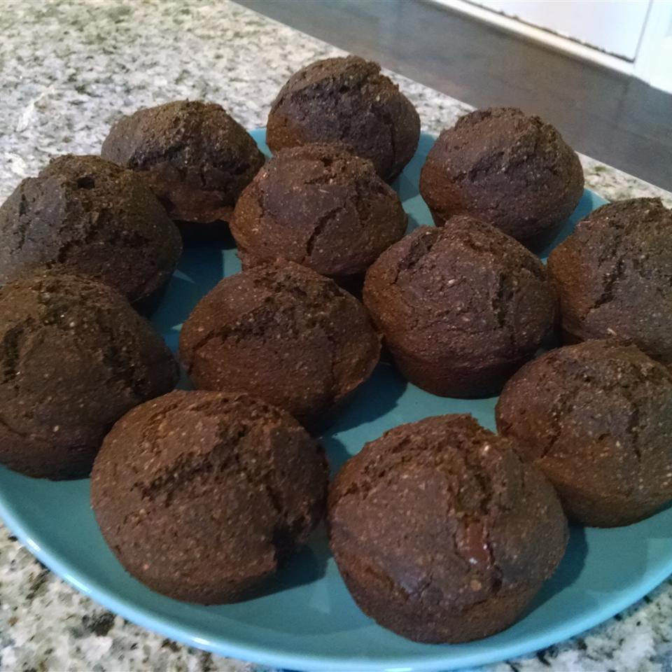 Irresistible Double Chocolate Muffins athomemamma11