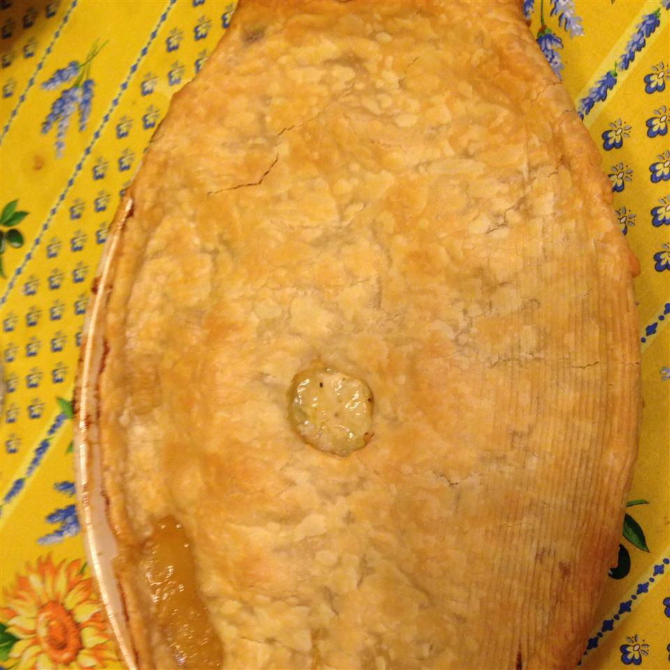 Irish Chicken and Leek Pie AMANDA FAIR