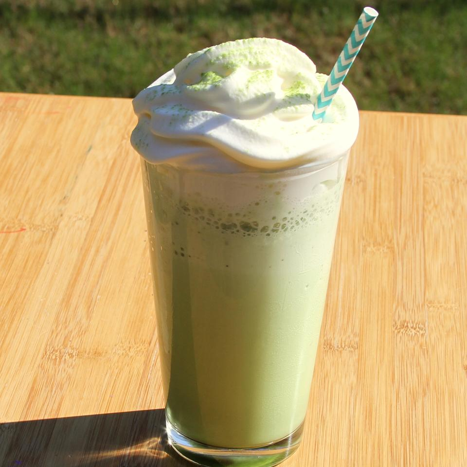 Delicious Matcha Green Tea Frappuccino® Jennifer Aleman