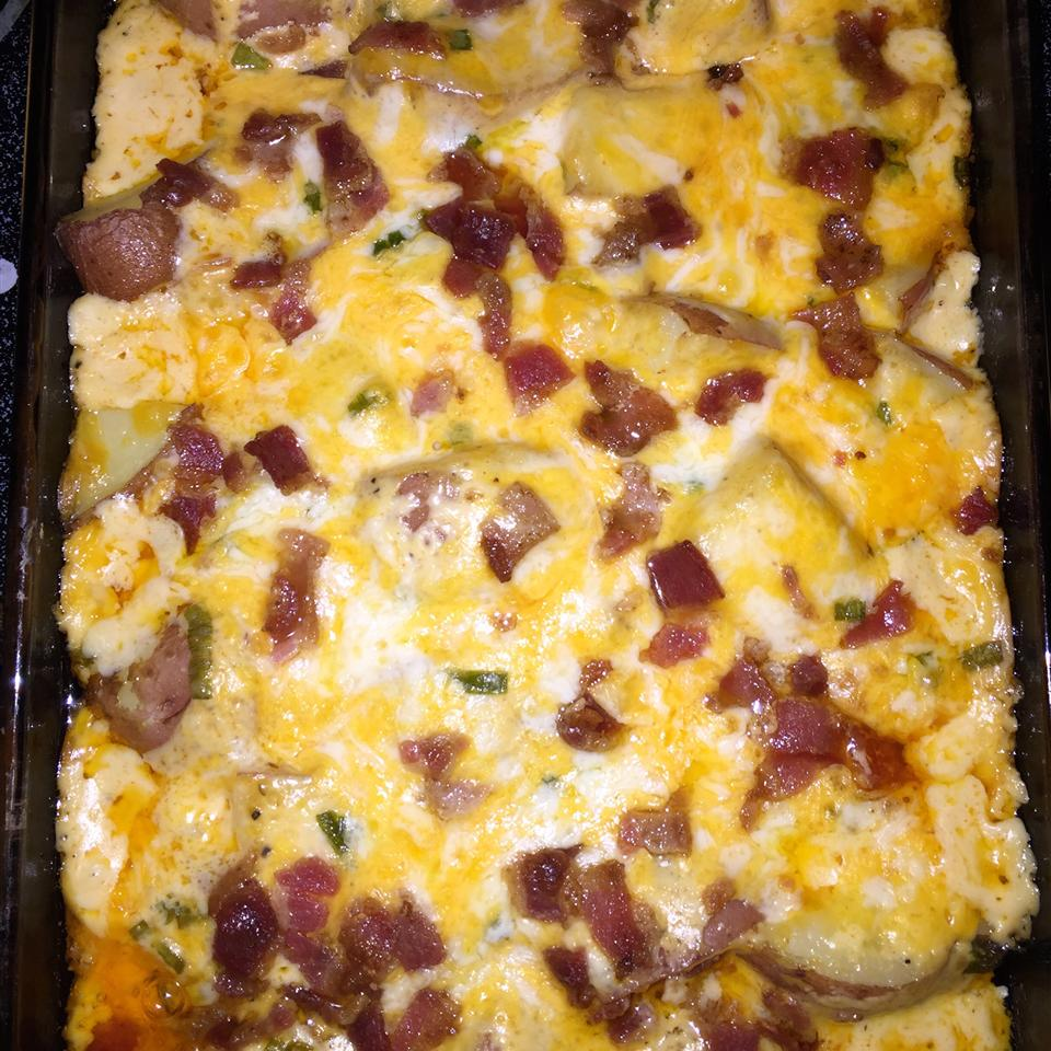 Twice Baked Potato Casserole from Crisco®