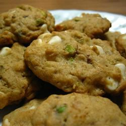 Pistachio White Chocolate Chip Cookies chocolots