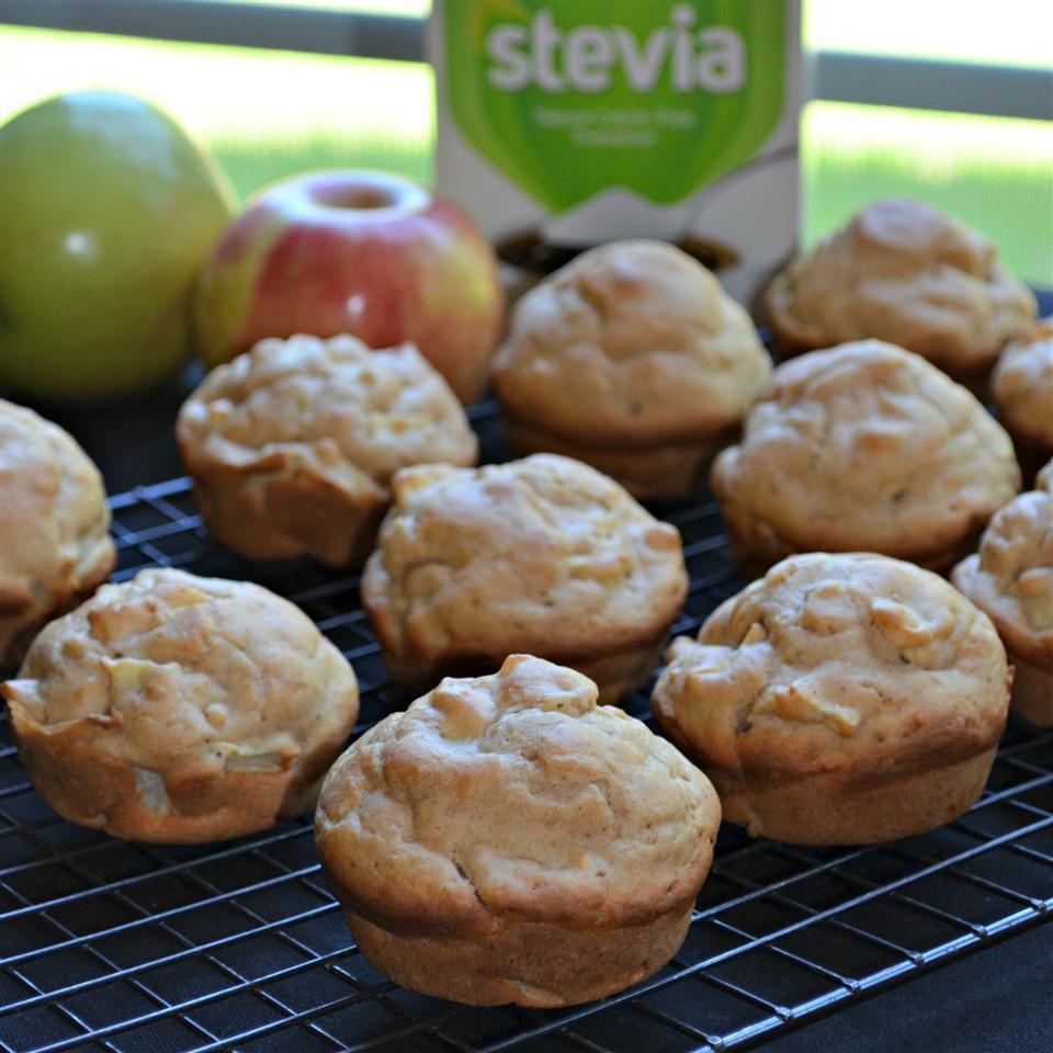 Diabetic-Friendly Apple Muffins