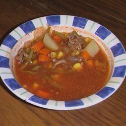 Grandma's Vegetable Soup ROSIESTOES