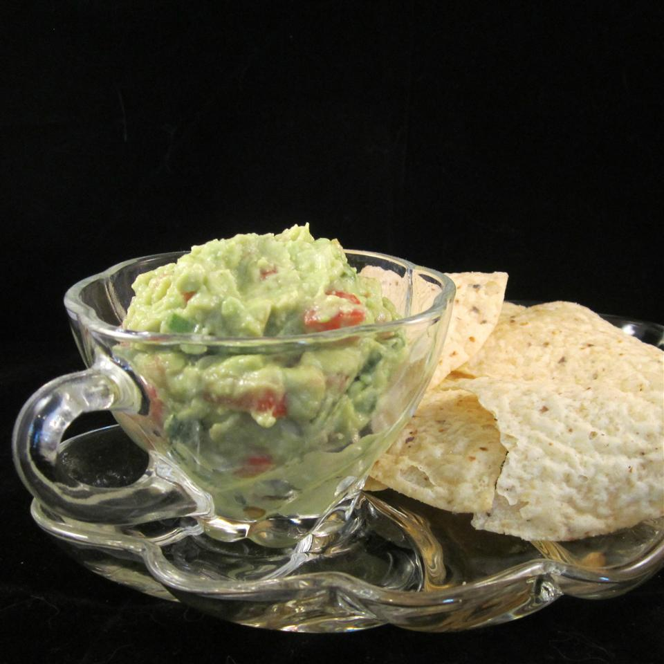 Traditional Mexican Guacamole Deb C