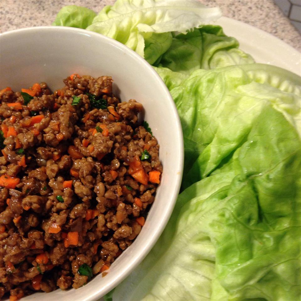 Easy Lettuce Wraps CatherineC