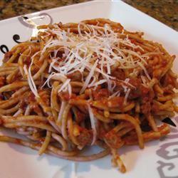 Nanny's Spaghetti Sauce