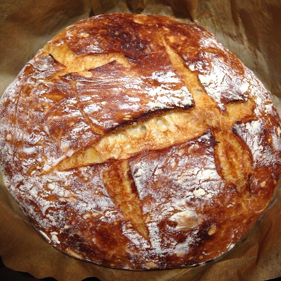 No-Knead Artisan Style Bread