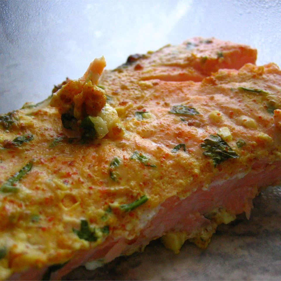 Yogurt-Marinated Salmon Fillets (Dahi Machhali Masaledar) chocolots