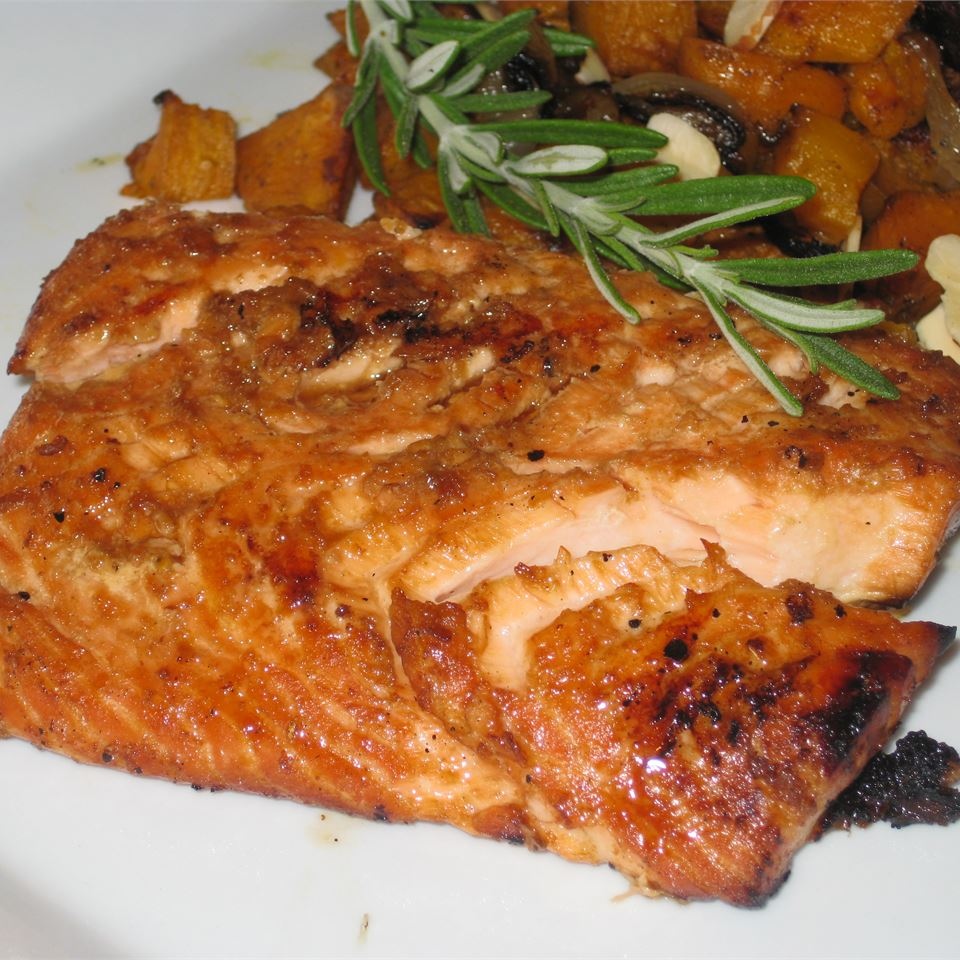 Soy Ginger Salmon Fit&Healthy Mom