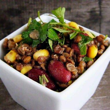 vegan lentil salad recipe