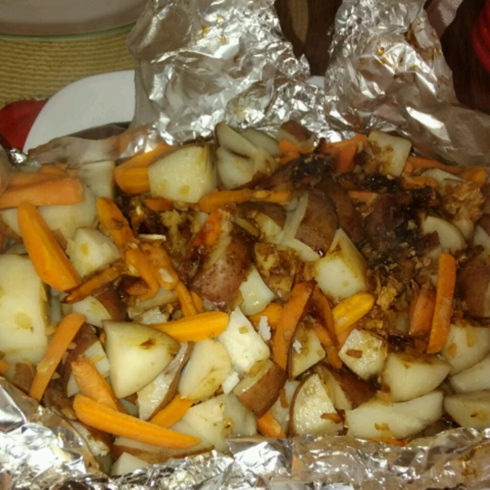 Campfire Potatoes and Carrots Theresa DeSieno