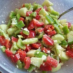 Summer Pepper Salad