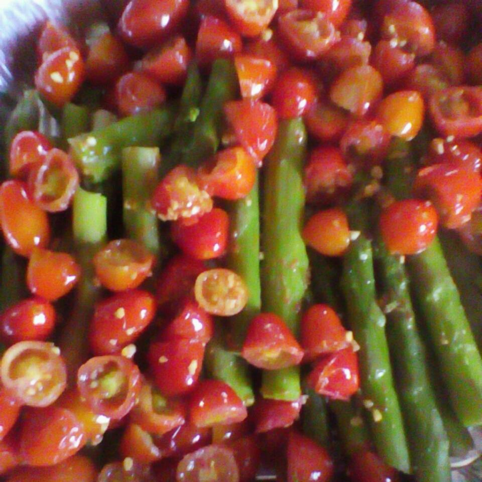 Asparagus with Tomatoes MeleaAnn