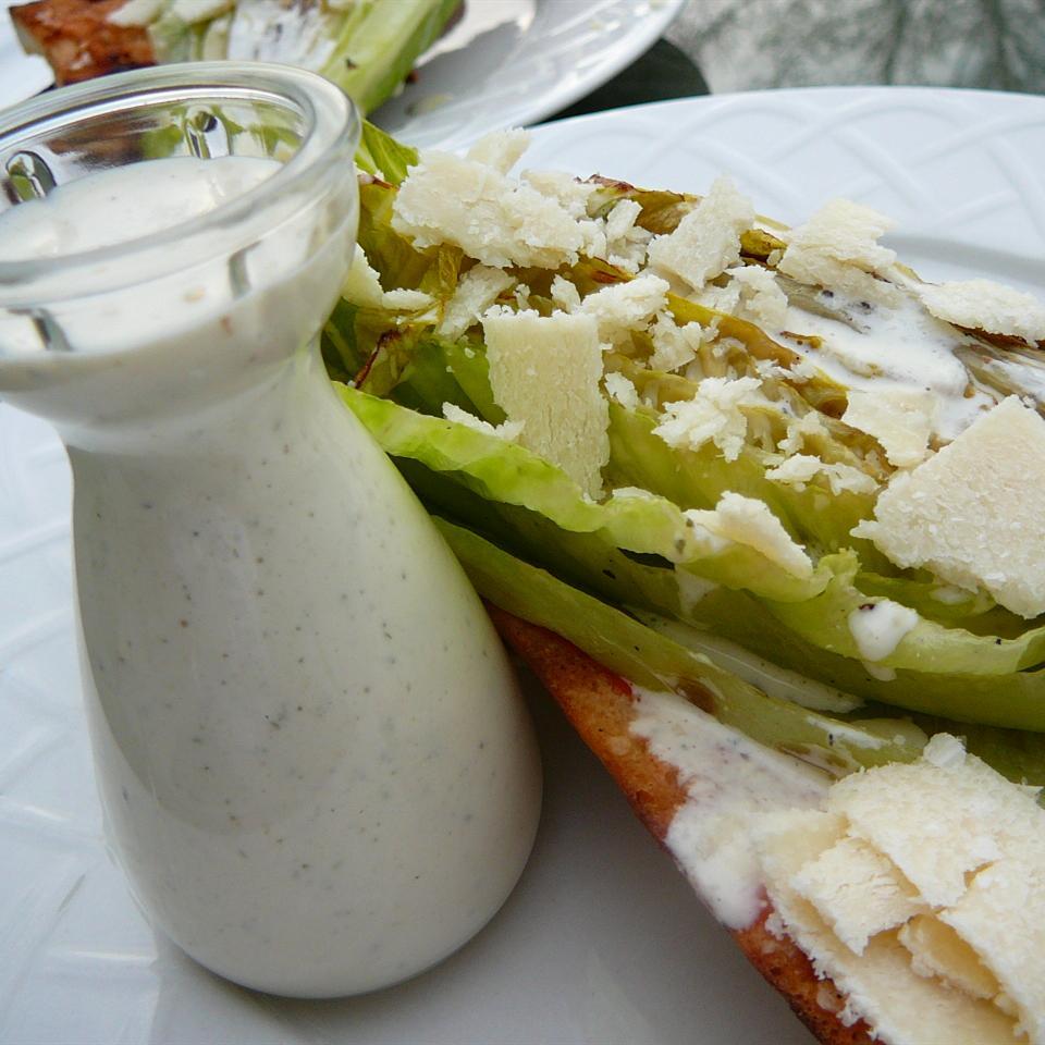 The Best Caesar Salad Dressing Molly