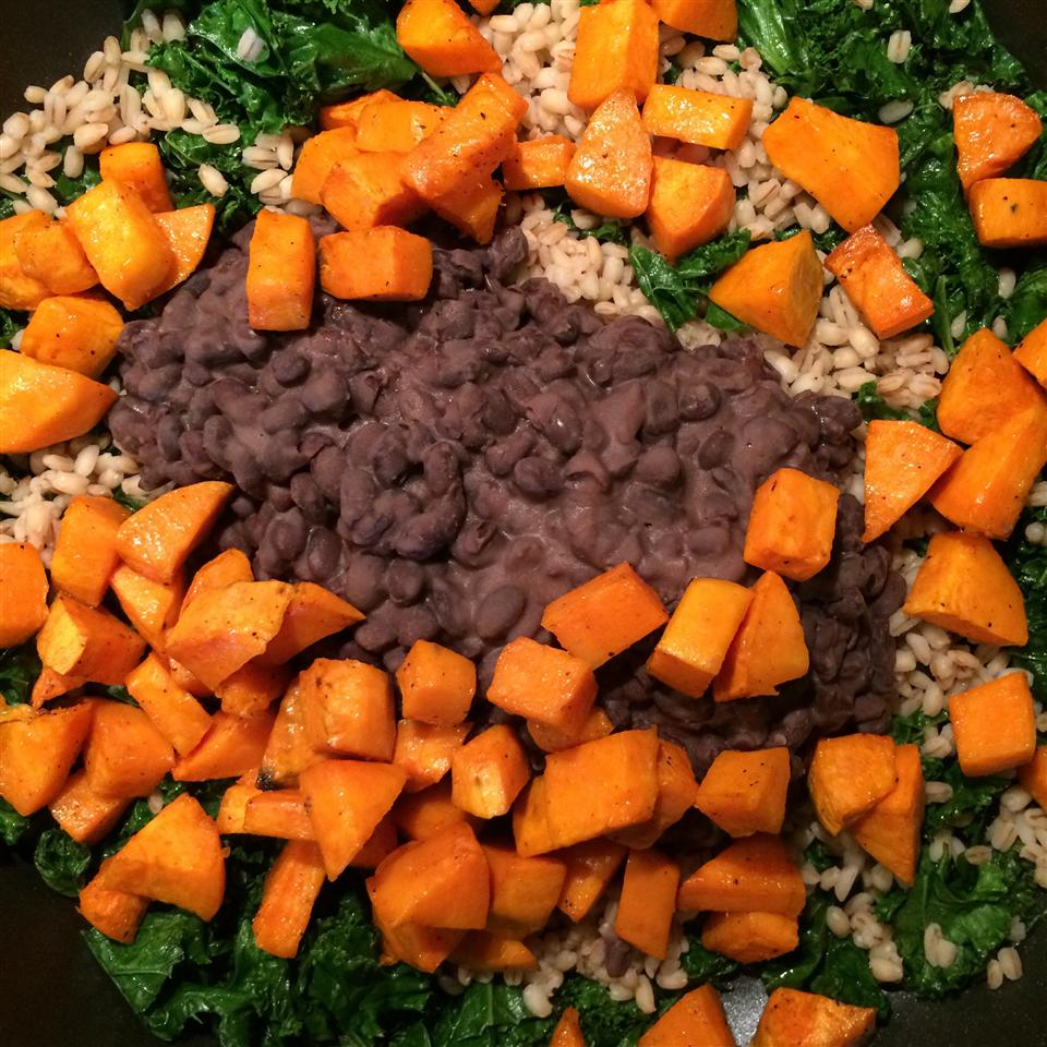 The West Seattle Sweet Potato and Kale Bowl kmmarykay