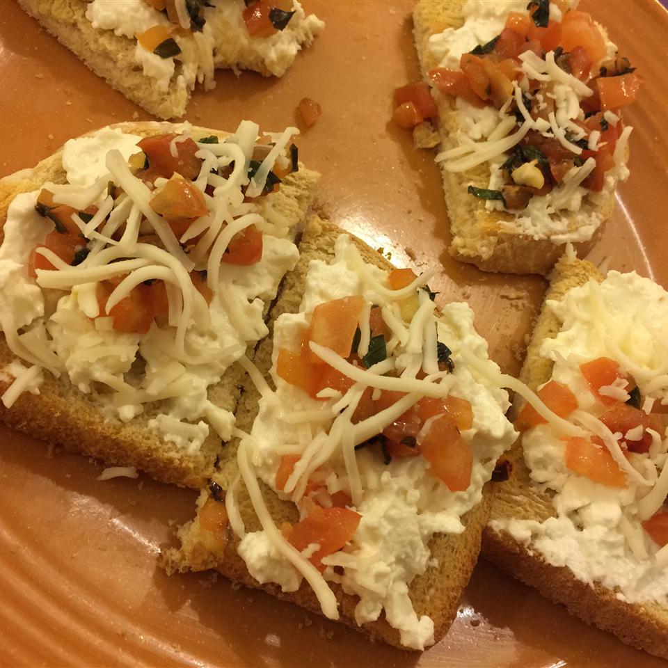 Carrie's Bruschetta Appetizer cookingsaby