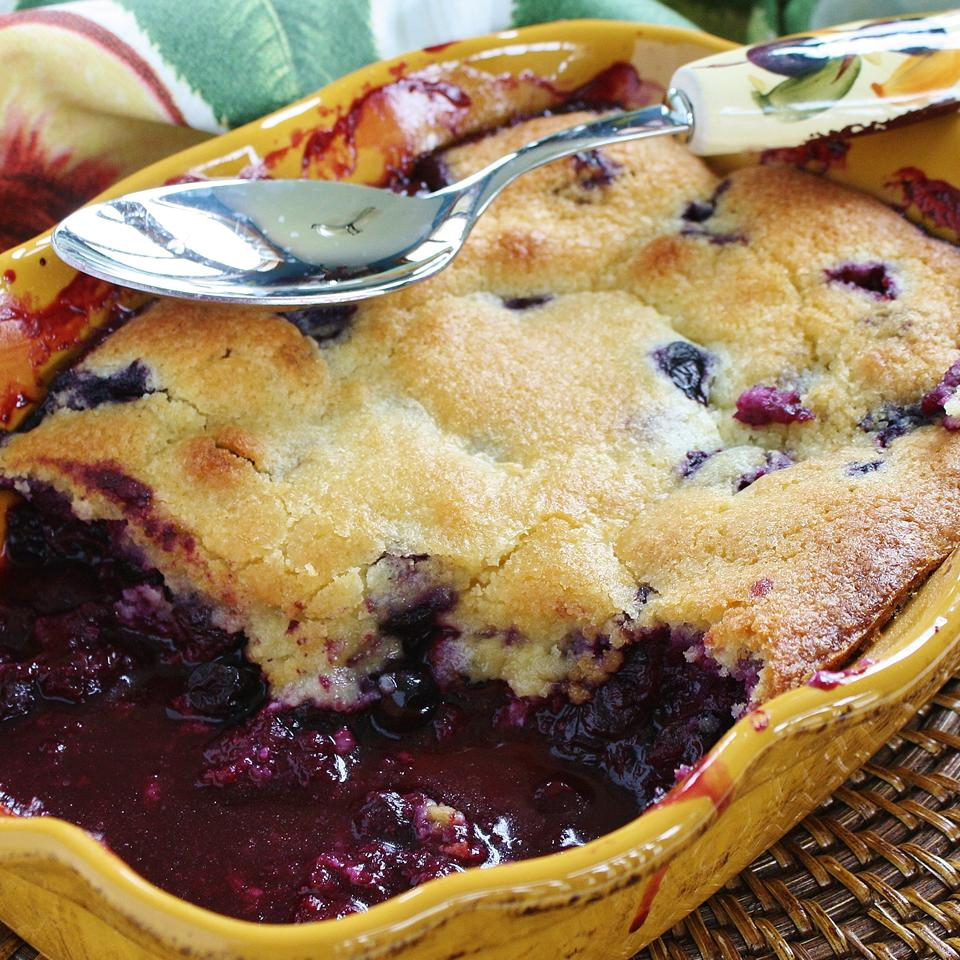 Best Ever Blueberry Cobbler naples34102