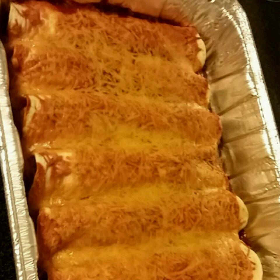 Fiesta Chicken and Black Bean Enchiladas from Mission® Gabby