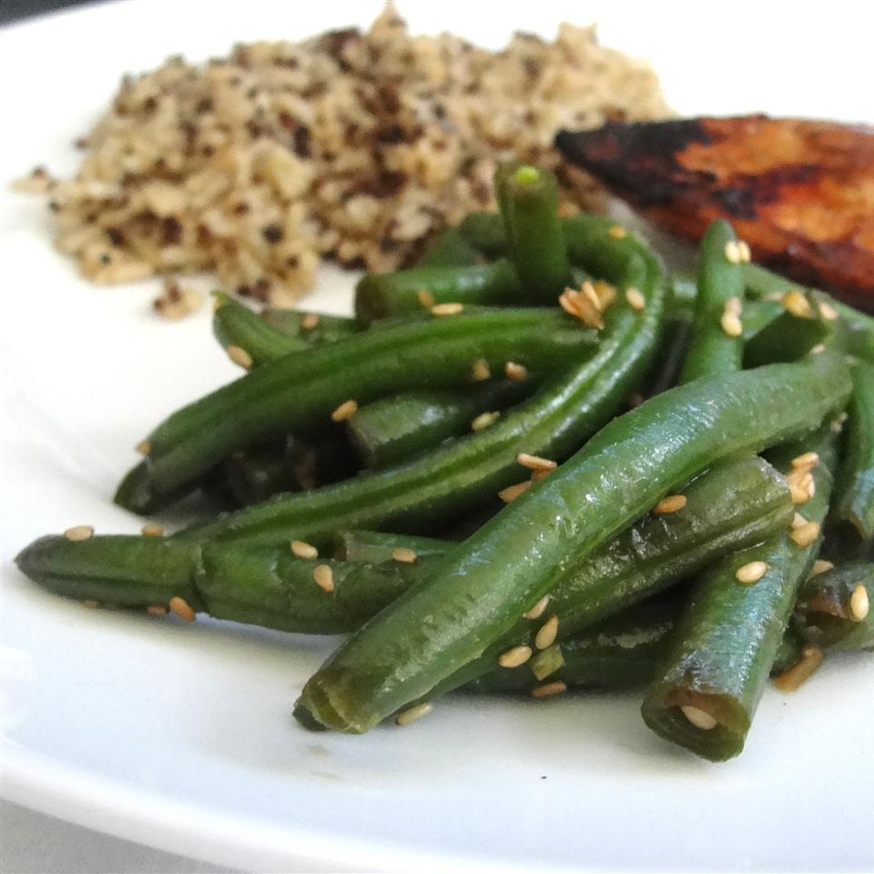 Quick Sesame Green Beans Rock_lobster