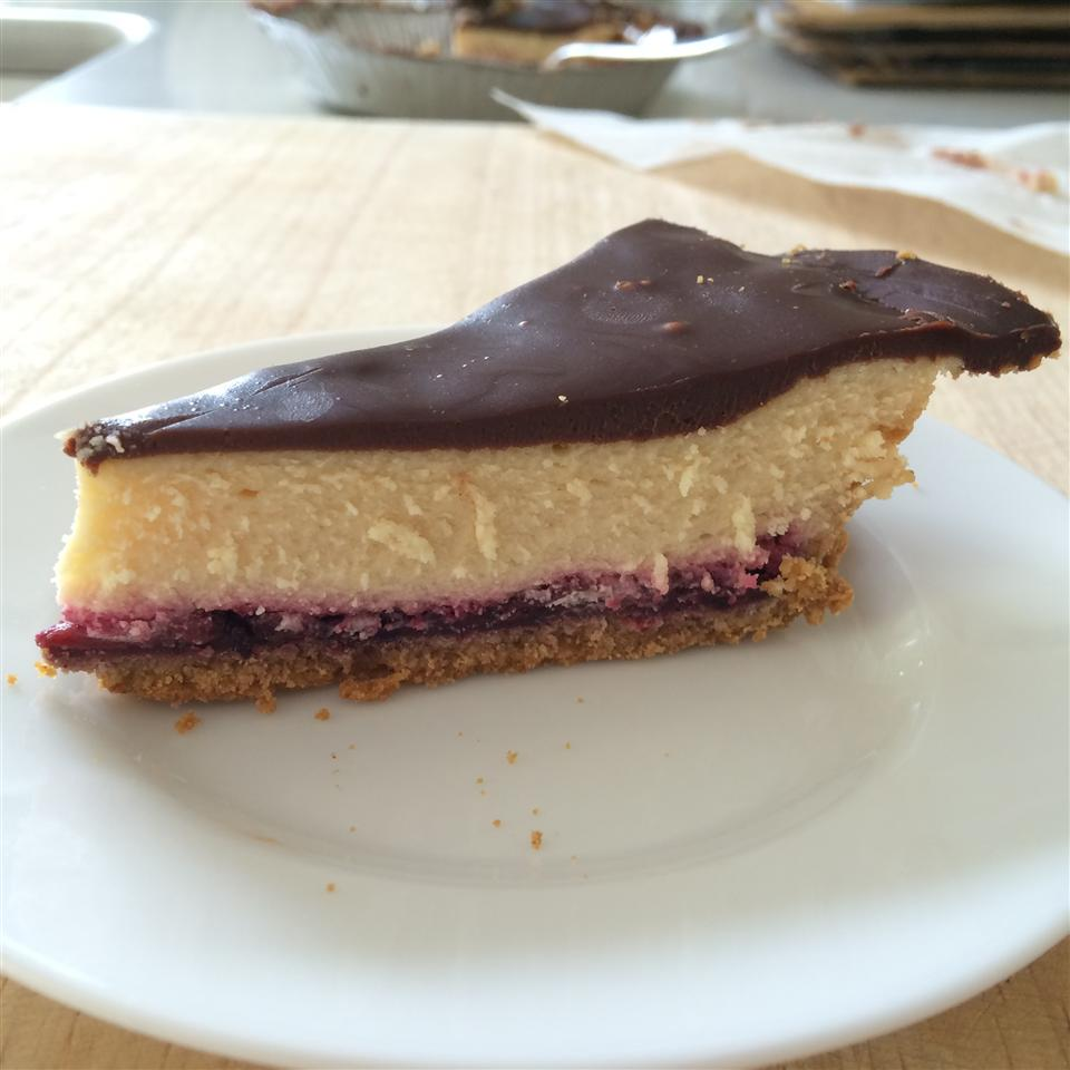 Chocolate Raspberry Cheesecake chefjenna