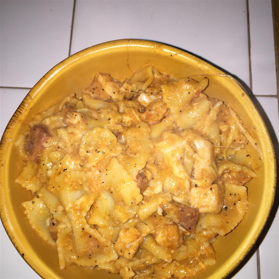 Creamy Jambalaya Pasta aroulette