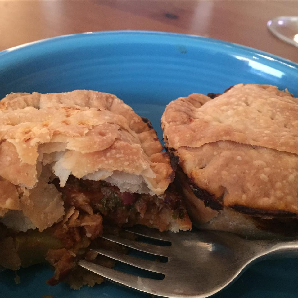 Squash and Kohlrabi Empanadas