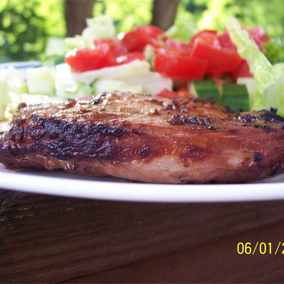 Grilled 'Fusion' Pork Chops