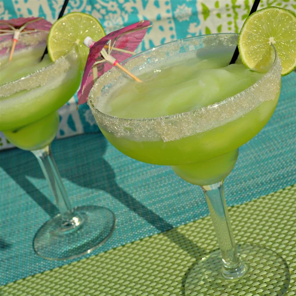 Frozen Melon Margaritas
