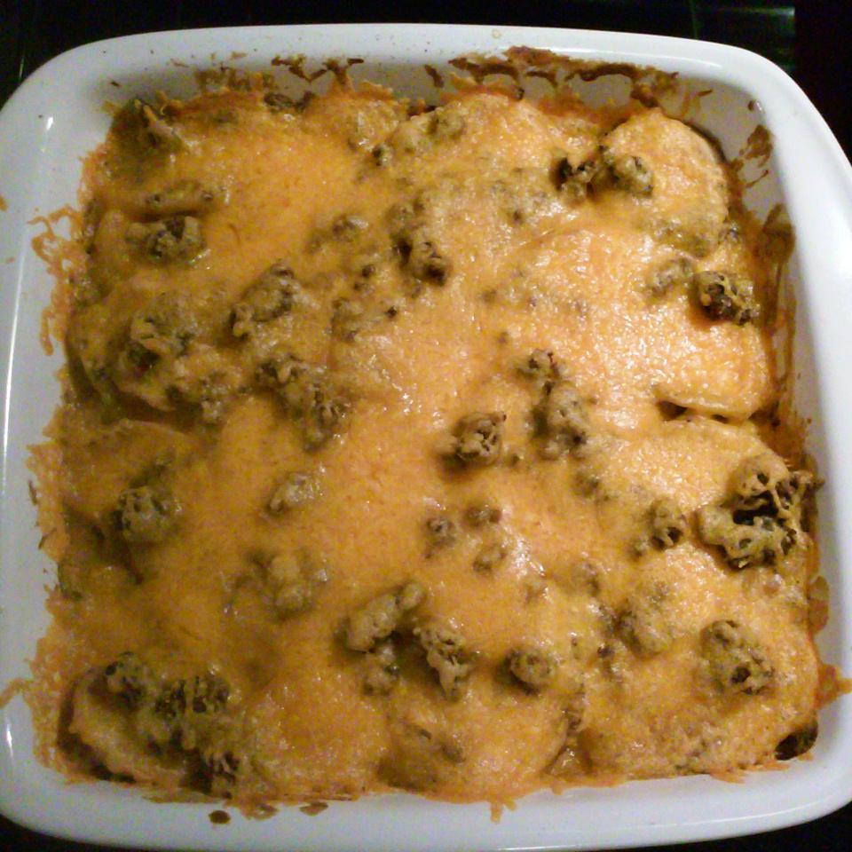 Creamy Hamburger Potato Casserole Jodie Moore