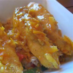 Orange Curried Chicken ahlavac