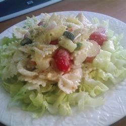 Summertime Chicken and Pasta Salad